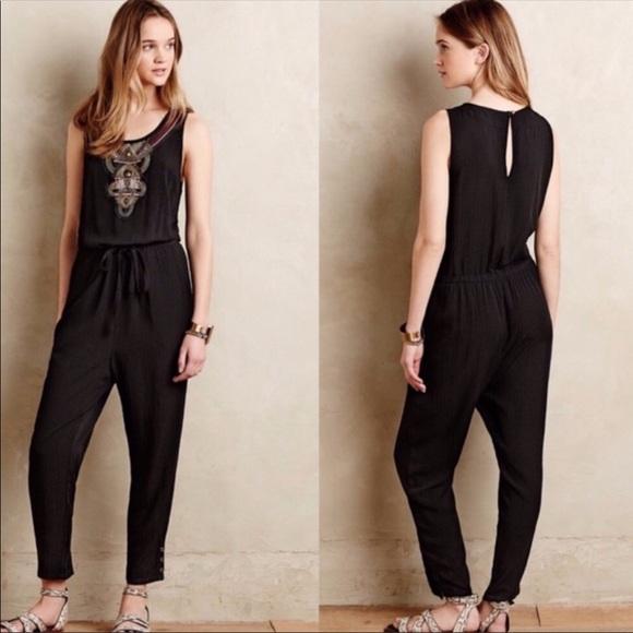 Anthropologie Dresses & Skirts - Litka Black Jumpsuit